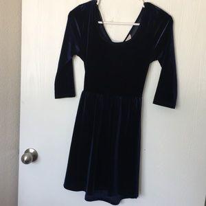 Navy Blue Small Forever 21 Mini Dress